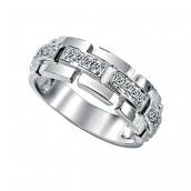Blistavost dijamanta na muškoj ruci