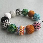 Perlice preko kuglica za božanstveni nakit