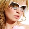 Sunčane naočare u beloj boji