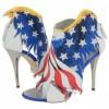 Cipele sa temom američke zastave