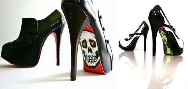 Cipele na štiklu u disko fazonu