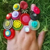 Prsten-dugme