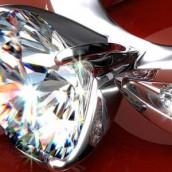 Verenički prsten ukrašen dijamantom