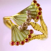 Art Nouveau prstenje
